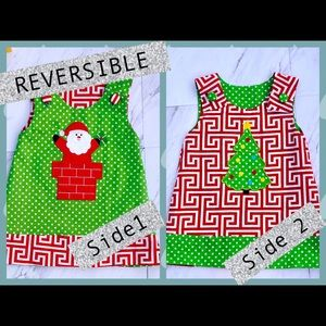 Other - REVERSIBLE- Christmas Appliqué Day